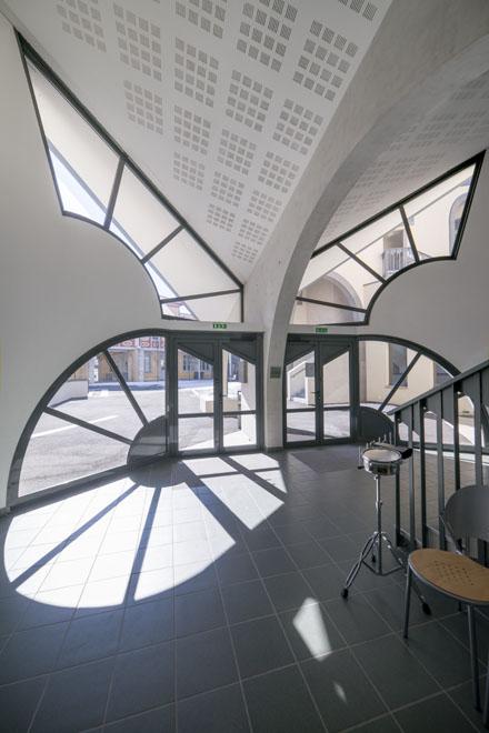 Foyer Des Arts Lux : Ricardo porro et renaud de la noue architectes │ ateliers